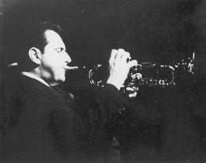 Mike Serpas on trumpet